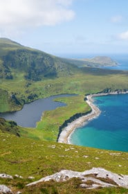 The rugged, Mayo coast off Achill Island, Ireland