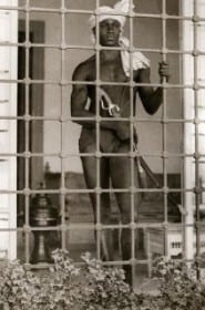 Eunuch Guard, Tunis 1931: photograph Recuerdos de Pandora