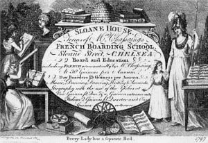Regency school advertisement