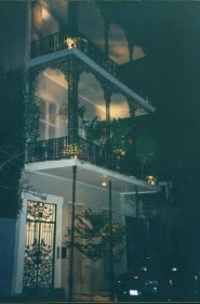 My apartment on Dauphine Street in the French Quarter.