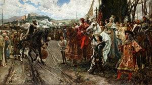 The fall of Granada